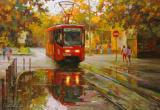 Красный московский трамвай