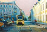 Трамвай на Бауманской